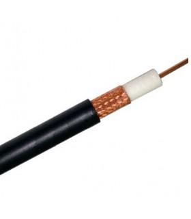 Câble Coaxial Noir 17 PATC Câble télévision extérieur - 100 m.