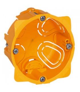 Boite d'encastrement Cloison sèche 1 poste Batibox Prof 60 mm
