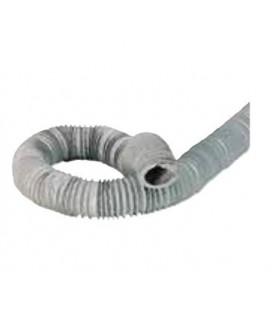 Gaine extraction VMC double flux, volume chauffé, Diamètre 125 - Long: 6 mètres