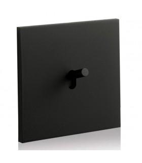 Interrupteur Epure Noir Mat