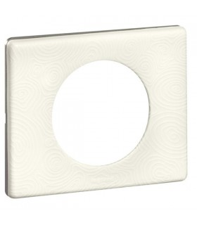 Plaque Porcelaine Songe 1 poste