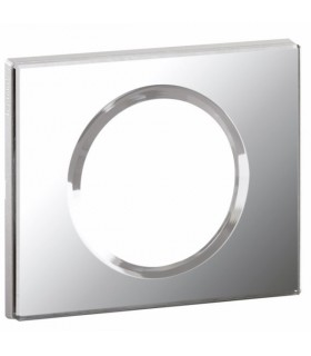 Plaque Verre Miroir 1 poste