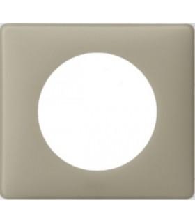 Plaque Céliane Poudré, 1 poste, finition: Argile
