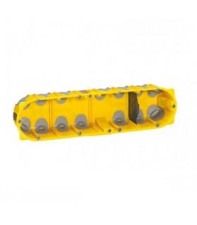 Boite cloison sèche 4 postes Batibox Energy Prof 50 mm