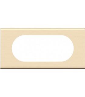Plaque Céliane. 4/5 modules, finition: Bois Erable.