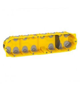 Boite cloison sèche 4 postes Batibox Energy Prof 40 mm
