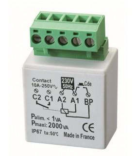 Micro module minuterie 2000 W encastré dans la boite. MTM2000E
