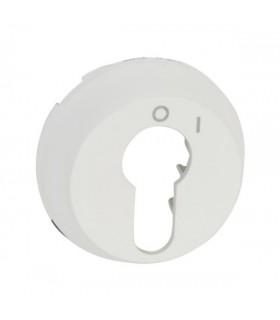 Enjoliveur Blanc pour interrupteur à clé 2 positions