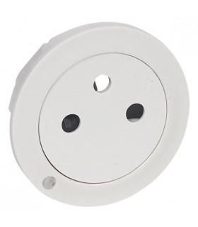 Enjoliveur Blanc prise de courant Surface à voyant