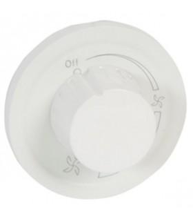 Enjoliveur Blanc variateur ventilation