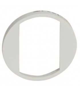 Enjoliveur Blanc porte étiquette