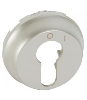 Enjoliveur titane pour interrupteur à clé 2 positions