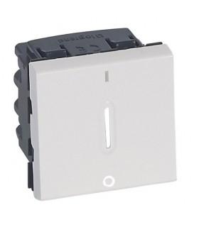 Interrupteur bipolaire 16 A à voyant LED