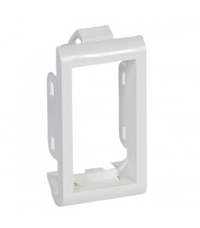 Support Mosaic clipsable. 1/2 poste 1 module
