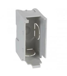 Boitier ''clips'' 1/2 poste 1 module