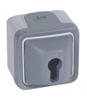 Interrupteur à clé Plexo