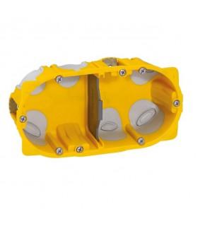 Boite cloison sèche 2 postes Batibox Energy Prof 40 mm