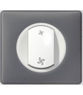 Commande 2 vitesses de VMC Schiste et Blanc