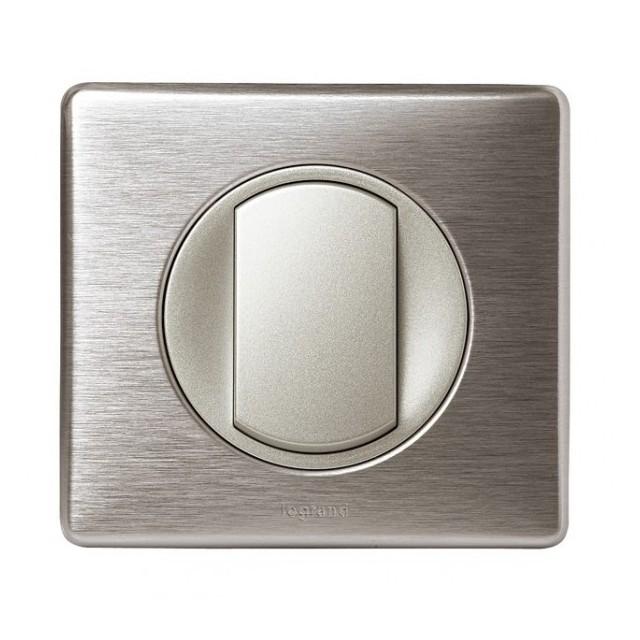 Va et vient Legrand Céliane aluminium complet 67001+68301+80251+68921