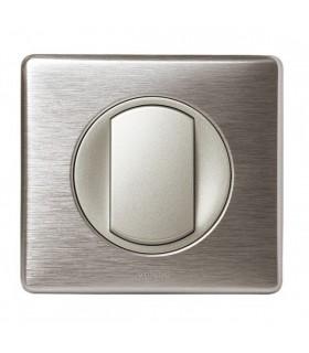 Promotion va et vient Aluminium 10 Interrupteurs Céliane complets