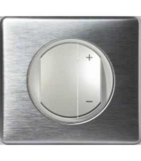Variateur Legrand Céliane Aluminium, 400 W universel.