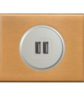 Chargeur USB Legrand Céliane: Bronze Doré