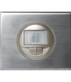 Interrupteur Automatique sans neutre 250 W. Inox Brossé