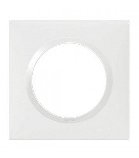 Plaque Dooxie, 1 Poste, Blanc