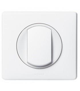 Interrupteur ou Va et vient Legrand Céliane Blanc, complet