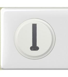 Prise téléphone PTT Céliane complet Blanc