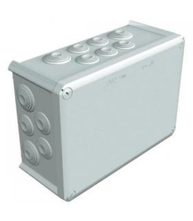 Boîte dérivation étanche, IP66, 285 X 201 X 120mm.