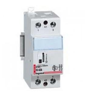 Contacteur de puissance bipolaire 40 Amp,  2 F (bobine 230 V)
