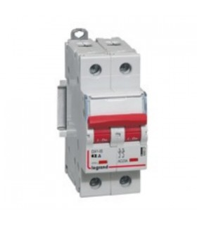 Interrupteur sectionneur de tête 400 V 2 pôles, 63 A