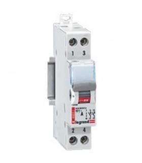 Interrupteur sectionneur modulaire 400 V 2 pôles, 32 A