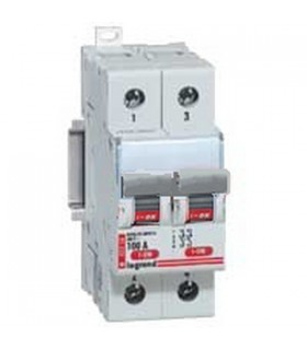 Interrupteur sectionneur modulaire 400 V 2 pôles, 100 A