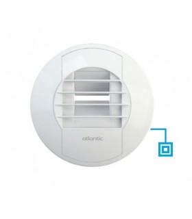 Bouche WC débit fixe 5m3/h et complémentaire 30 m3/h Bouton poussoir