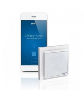 Thermostat devireg Smart pour plancher chauffant - Blanc pur - DELEAGE