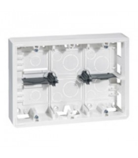 Cadre saillie 2 rangées de 6, 8, 3*2 modules ( profondeur 40 mm)
