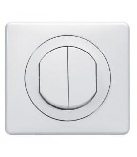 Interrupteur Double Céliane étanche IP 44