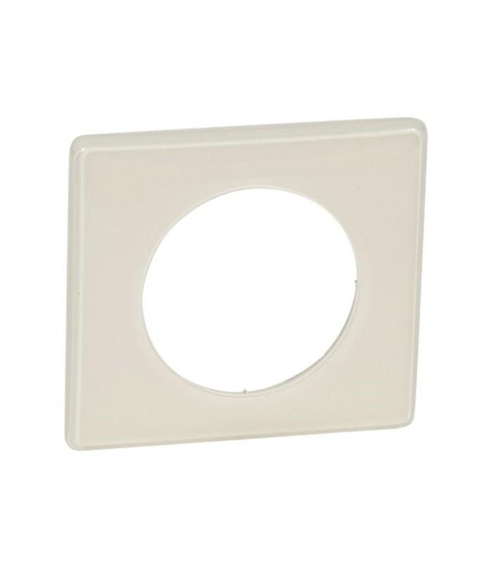 plaque legrand c liane finition ivoire 1 poste 66621. Black Bedroom Furniture Sets. Home Design Ideas