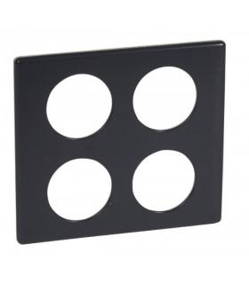 Plaque Céliane Legrand : Carbone (2 x 2 postes)