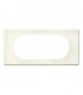 Legrand Plaque finition Porcelaine Songe 4/5 postes