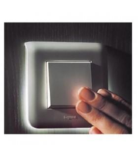 Interrupteur avec Plaque rétro-éclairée Mosaic