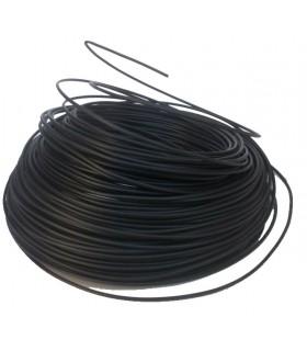 Fil 1.5 mm² Noir 1 rouleau de 100 mètres.