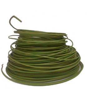 Fil 2.5 mm² Vert Jaune (fil de terre) 1 rouleau de 100 mètres.