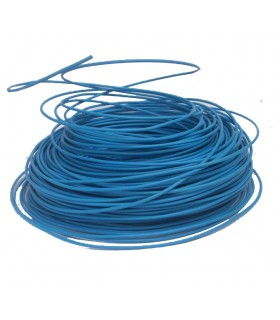 Fil 6 mm² Bleu 1 rouleau de 100 mètres.