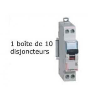 1 Boîte de 10 disjoncteurs Legrand 10 A