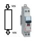 Disjoncteur Legrand 25 A - C25 Phase / Neutre, Vis - Vis