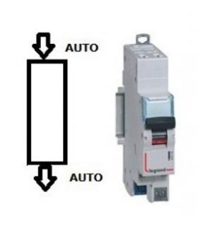 Disjoncteur Legrand 10 A Courbe D Phase + Neutre, Auto - Auto