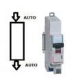 Disjoncteur Legrand 16 A Courbe D Phase + Neutre, Auto - Auto